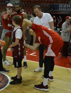 Meet and Greet FC Bayern Basketball, BIGREDS Mitglied werden